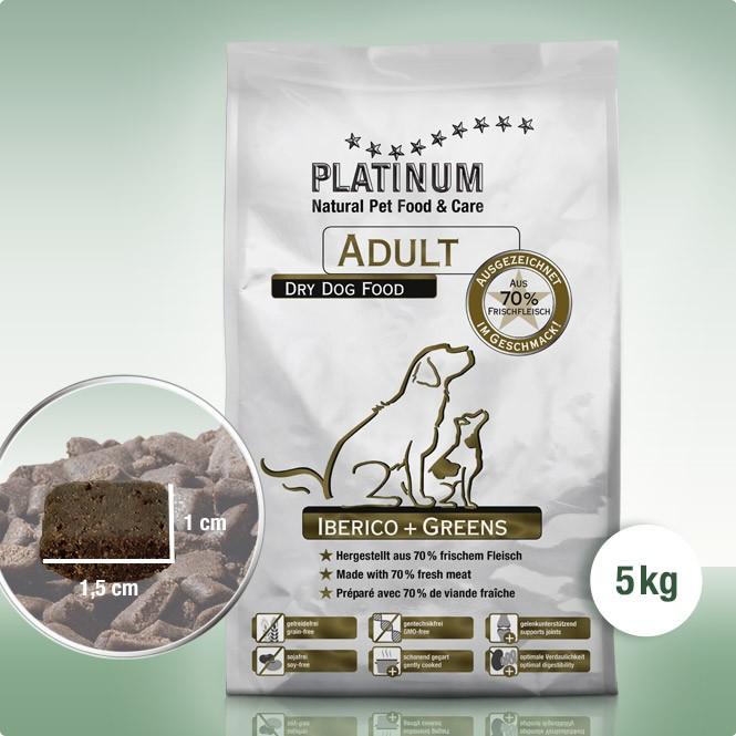 Platinum Adult Iberico+Greens 5 kg
