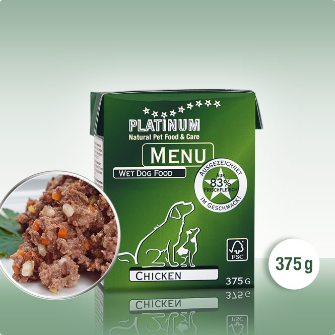 PLATINUM MENU Пиле 12 х 375g