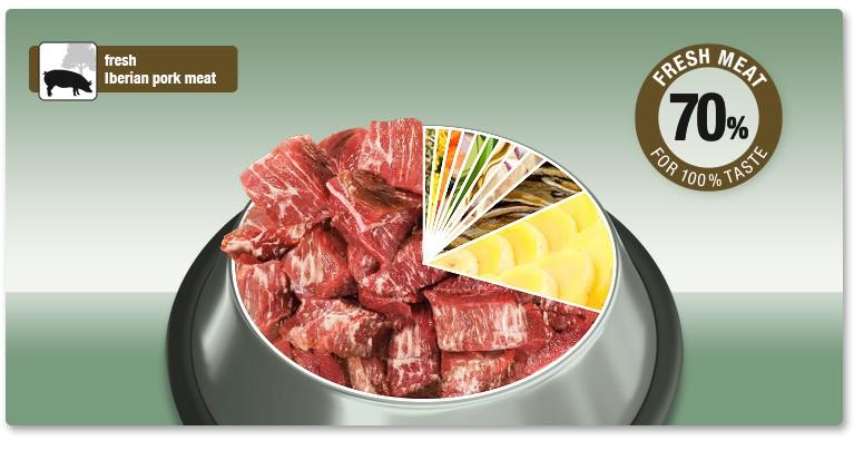 Пълноценна Суха Храна за Възрастни Кучета Platinum Adult Iberico and Greens