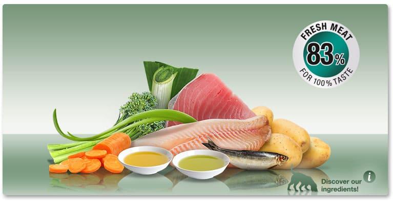 Качествена Мека Храна за Кучета PLATINUM MENU Риба