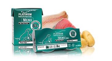 Пълноценна Мека Храна за Кучета Platinum